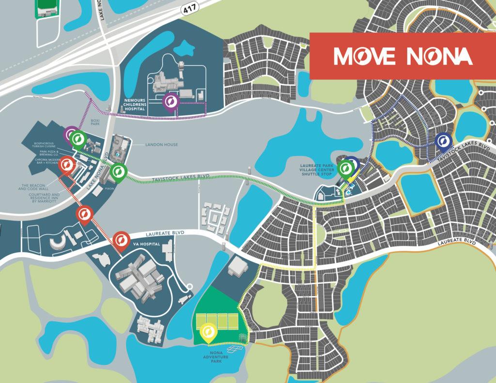 Move Nona Map